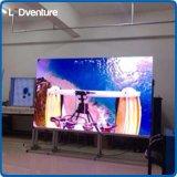 Grande LED TV schermo dell'interno di colore completo per la pubblicità della soluzione