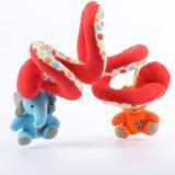 Juguete relleno educativo animal de la felpa del bebé