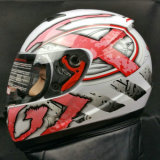 Venta caliente integral de la cara llena de los cascos de la alta calidad de los accesorios de la motocicleta