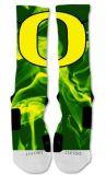 Produzierte beste OEM/ODM abgestufte Komprimierung-Auslese-Fußball-Socken