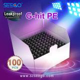 Seego ha brevettato la penna riutilizzabile di Vape dell'olio di Cbd G-Ha colpito il kit del dispositivo d'avviamento della sigaretta del PE E