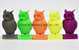 El modelo impreso mira el sentido de Matalic por el filamento de 3D Matal