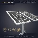luz de rua solar da lâmpada do diodo emissor de luz de 8m 9m 10m pólo claro 60W