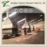 Stärken-wasserdichtes Eukalyptus-Furnierholz der Qualitäts-7mm für Fußboden
