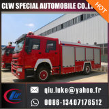 Coche de bomberos del tanque de agua de HOWO 12000L