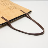 Vintage Fold Kraft Paper Color Ladies Shoulder Bag (K001)
