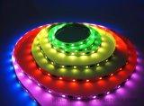Luz de tira rígida flexible de la barra LED del RGB de la luz colorida brillante de la cinta