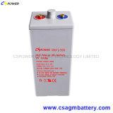 batterie tubulaire d'Opzv de la longue vie 2V800ah pour solaire/télécommunications