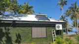 Condicionador solar híbrido fixado na parede com indicador de diodo emissor de luz