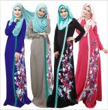 2017人の忠節なイスラム教ローブの女性のAbayaの服