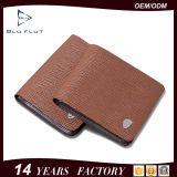 Новый приезжанный бумажник бумажника людей способа неподдельный ретро кожаный