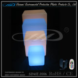 Muebles de LED cubo sillas con Iluminación Iluminación