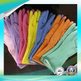 Luvas de trabalho do látex protetor para o material de lavagem com boa qualidade