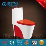 Туалет изделий Китая цветастый керамический санитарный (BC-2027-W)