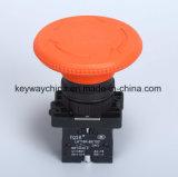 переключатель кнопка гриба 22mm с тавром Keyway