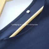 Blaues Frauen `S Polyester-Kleid