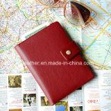 عالة شخّص [بو] جلد سفر جواز سفر حامل