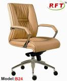 Chinesisches ledernes Büro-Möbel-Hotel-rotierender Manager-Stuhl (B37-1)