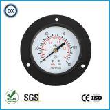 Gaz ou liquide de pression d'acier inoxydable de mesure de pression atmosphérique de 004 installations