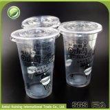 Beschikbare Plastic Koppen Smoothie met Embleem