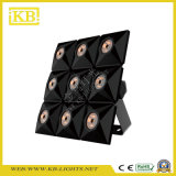 Efectos especiales que encienden la matriz LED 9PCS*10W
