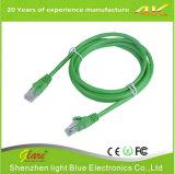파란 색깔 PVC 고양이 6 이더네트 케이블 6FT