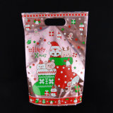 Мешок пластичной ранга подарка упаковывая с изготовленный на заказ печатание конструкции логоса