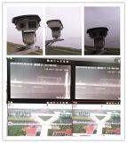 1kmの夜間視界2.0MP CMOS二重ハウジングHDレーザー高速PTZのカメラ