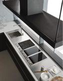 現代食器棚の戸棚のキャビネットの台所
