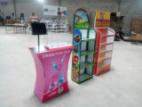 La flor suministra ventas directas del fabricante de China del estante de visualización