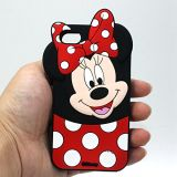 IPhone 7/7 Plus Custom Mickey Shape Silicone Case