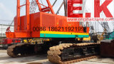 Guindaste hidráulico de chumbo 150ton Hitachi Crawler Crane (KH700-II)