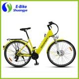 Bici de montaña eléctrica ocultada de la visualización del LCD de la batería '' 28 '' de Shuangye 26