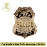 De aangepaste Speld Van uitstekende kwaliteit van het Kenteken van de Politie van het Email Militaire