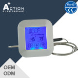 Touch Setting Digital Cooking Kitchen Meat Thermometer com display LCD