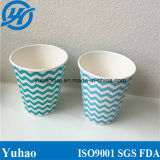 Venta al por mayor disponible de China de las tazas de papel del color verde