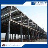 Atelier préfabriqué/entrepôt/construction de structure métallique