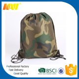 Amry Polyester Camouflage Drawstring Bag