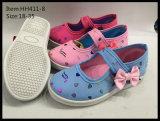 Самая последняя танцулька ботинок холстины детей конструкции обувает ботинки отдыха (HH411-5)