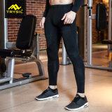 Pantalones del deporte de las medias del Spandex de Legging de la compresión de los hombres