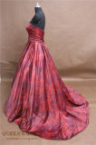 Form-Entwurfs-Drucken-Satin-Serien-Brautkleid-Kleid-Hochzeitsfest-Abend-Kleider