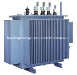 Transformador montado poste inmerso en aceite de la distribución de potencia S9/S11/S13