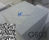 G603自然で白い水晶灰色の石造りのタイル