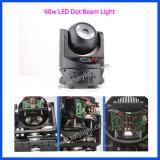 Magischer Mini-PUNKT 60W LED Träger-bewegliches Hauptlicht