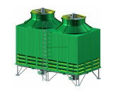 물 회람 사각 냉각탑