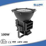 Lumière d'inondation extérieure économiseuse d'énergie de 100 watts DEL