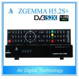 De Decoder Zgemma H5.2s van Multistream plus met dvb-S2 + dvb-S2X +DVB-T2/C Drie Tuners H. 265 SatellietOntvanger Hevc