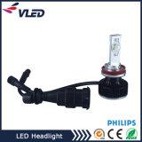 Linterna de H7 LED, linternas del coche LED de H4 H7 con las piezas de automóvil de la motocicleta de la lente del proyector