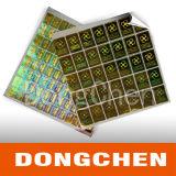 ベストセラーの良質の完全な光沢のあるホログラムのステッカーの機密保護