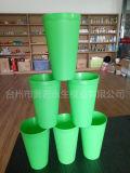 Molde plástico do copo do verde da injeção de 4 cavidades